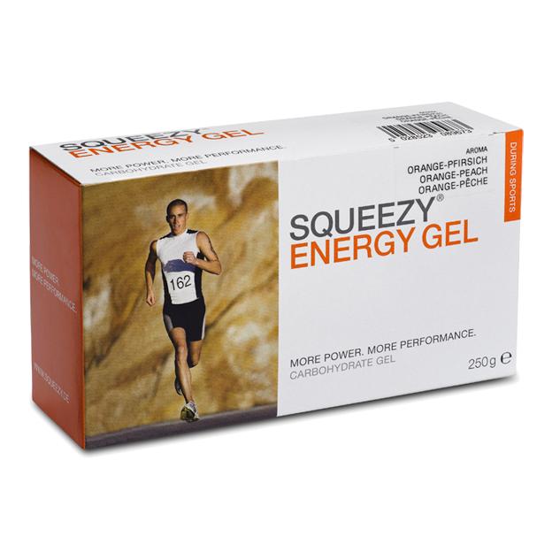 SQUEEZY ENERGY GEL BOX 2009
